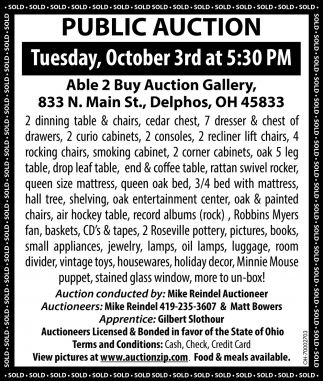 Able 2 Buy Auction Gallery