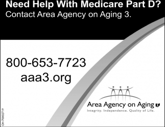 Need help with Medicare Part D?